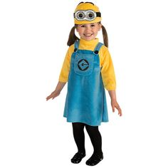 Buy Minions Dressing-Up Costume, Toddler | John Lewis