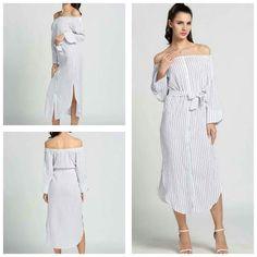 Women dress with belt side slit  Price 1250