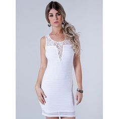 Vestido Feminino Facinelli - Branco
