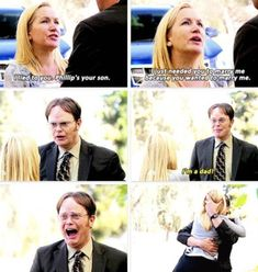 The Office Dwight, The Office Show, Office Tv, Office Cast, Best Tv Shows, Best Shows Ever, Dwight And Angela, Angela Martin, Office Jokes