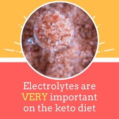 One of the biggest surprises for me when I started on the keto diet was finding out that I needed A LOT more electrolytes than normally. Low Carb Food List, Low Carb Keto, Low Carb Recipes, Healthy Recipes, Healthy Foods, Keto Diet Guide, Diet Tips, Keto Electrolytes, Food Lists