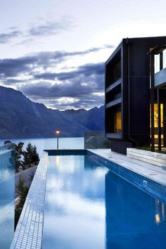 Luxury Rental Homes by New Zealand Sotheby's International Realty. Architecture Images, Residential Architecture, Queenstown New Zealand, New Zealand Houses, Architect House, Luxury Holidays, Luxury Homes, Beautiful Homes, Condo