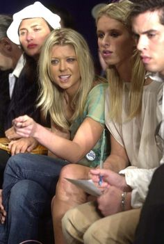 Tara Reid and Nicky Hilton at Lloyd Klein, 2002