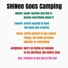 This is so PERFECTLY accurate, I can picture Key's diva face right now LMAO #SHINee