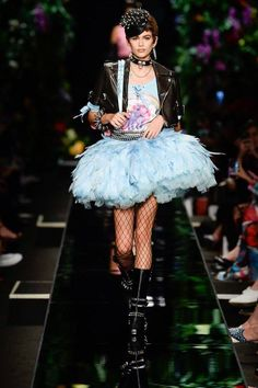 My Little Pony and pastel perfection at the Moschino S/S 18 collection #MFW