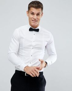 Reiss Slim Fit Shirt In Texture