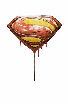 superman Art Print Logo Superman, Superman Art, Marvel Dc, Marvel Comics, Batman Tattoo, Marvel Series, Character Costumes, Transfer Paper, New Art