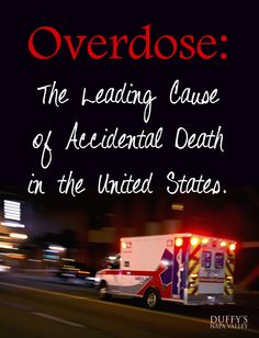 Overdose is the leading cause of accidental death in the US. Are we doing enough to help?