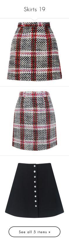 """Skirts 19"" by katiemarilexa ❤ liked on Polyvore featuring skirts, mini skirts, bottoms, saias, faldas, plaid, short tartan skirt, tartan mini skirt, checked skirt and plaid miniskirt"