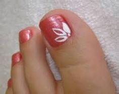 Resultado de imagen para unha do pé decorada Pedicures, Flower Nails, Nail Art, Beauty, French Manicures, Disney, Pretty Pedicures, Perfect Nails, French Nails
