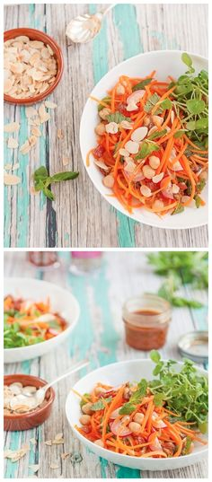 Moroccan Carrot Salad with Chickpeas Recipe