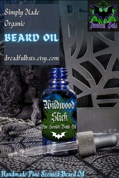 Brewed with a wicked blend of oils for a slick, robust full beard and you'll start to see the subtle changes in texture with every application. Get one of these bad boys @ Dreadful Bats on Etsy! Pine Essential Oil, 100 Essential Oils, Diy Beard Oil, Glass Dropper Bottles, Cedarwood Oil, Full Beard, Vitamin E Oil, Carrier Oils, Hair And Beard Styles
