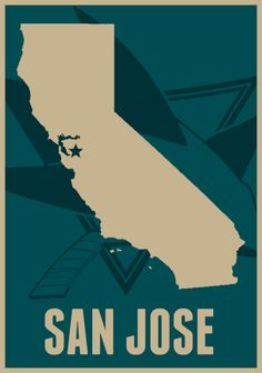 San Jose Sharks!! The star isnt quite in the right place but oh well lol go Sharks!