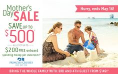 Mother's Day Travel Deal