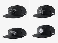 Nike NFL Black True Energy Adjustable Snapback Hat NWT MANY TEAMS 839953