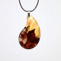 특수목과 레진을 사용해 만드는 악세사리 wood resin jewelry, design, necklace wooden pendant