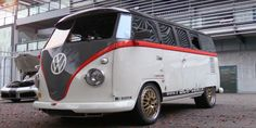 Watch This 993 Turbo-Powered Volkswagen Bus Hang With Supercars