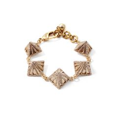 Lulu Frost Apex pave bracelet