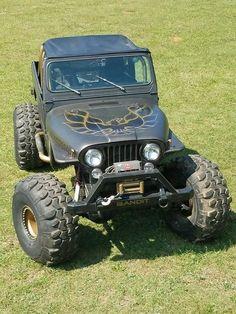 My Jeep Addiction Cj Jeep, Jeep Cj7, Jeep Wrangler Yj, Jeep Truck, Jeep Fenders, 4x4 Trucks, Jeep Golden Eagle, Badass Jeep, Classic Car Insurance