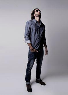 Calça jeans reta OYHAN