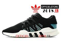 huge discount 9e250 bba6f Adidas Originals Homme Chaussures EQT Support ADV Primeknit 93 17 Prix Pas  Cher Noir Vert