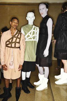 Rick Owens SS15 Men Fashion Show Paris Backstage | Sonny Vandevelde