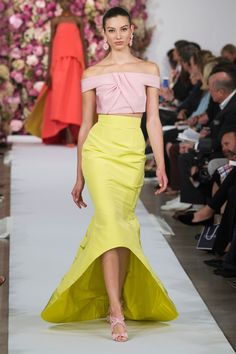 OSCAR DE LA RENTA Spring-Summer 2015 Collection New York Fashion Week