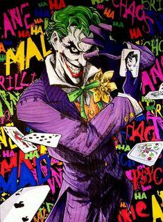 Joker Joker Batman, Comic Del Joker, Joker Y Harley Quinn, Joker Art, Batman Art, Batman Robin, Marvel Comics, Joker Dc Comics, Joker Images