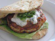 Janes butter chicken burger recipe from MakeEverydayEasy.com