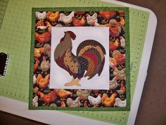 Rooster Or Chicken Quilts | Quilting: Rooster Wall Hanging