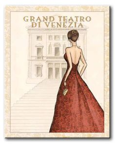 lAl_034_Ballet / Cuadro Gente, Mujer Elegante