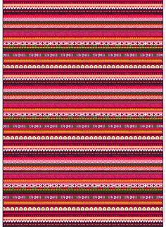 Raanu fabric, design Sanna Annukka for Marimekko