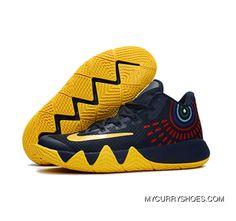 Nike Kyrie 4 Black Purple Jade  5e2a198c3b