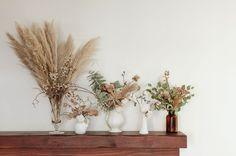 Looking for a new and interesting way to repurpose flowers? Here are three beautiful ways to decorate with dried flowers.