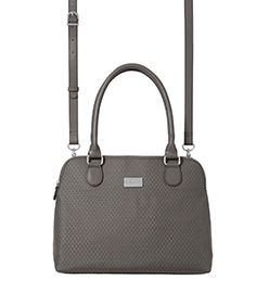 natalie satchel from baggallini is smaller in stature than a larger satchel. Perfect for meetings or evenings out! #baggallini #spring2015