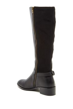 Like the two-tone fabrics. 14th & Union Fairlee Leather Boot by 14th & Union on @nordstrom_rack