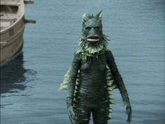 ウルトラQ-20-海底原人ラゴン Showa Era, Scary Monsters, Special Effects, Godzilla, Troll, My Hero, Weird, Batman, Statue