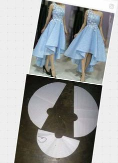 63+ Ideas for skirt full circle pattern #skirt Diy Clothing, Sewing Clothes, Dress Sewing Patterns, Clothing Patterns, Fashion Sewing, Diy Fashion, Circle Pattern, Pattern Skirt, Cloak Pattern