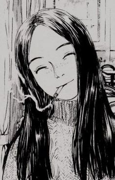 """Find and save images from the """"anime"""" collection by i wanna be pretty (marubed) on We Heart It, your everyday app to get lost in what you love. Aesthetic Art, Aesthetic Anime, Manga Art, Anime Art, Art Sketches, Art Drawings, Character Art, Character Design, Junji Ito"""