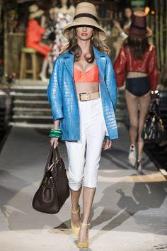 DSQUARED2-Défilé Femme Printemps-Eté 2014 à Milan http://fashionblogofmedoki.blogspot.be/