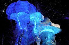 The Jellyfish Pendants by Geraldine Gonzalez