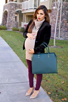 Layering 101: The Basics of Layering During Pregnancy || mychicbump.com
