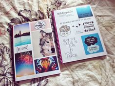 Elena Rogue: DIY Tumblr Inspired notebooks