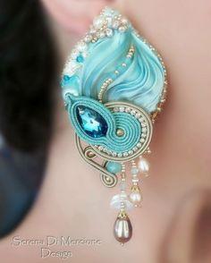 #shiborisilk #silk #seta #seda #soie #earrings #orecchini #soutache