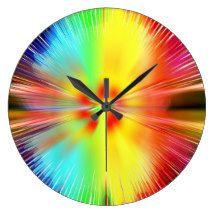 Spacy Clocks
