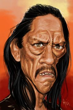 Danny Trejo. ✿ ❀ ❁✿ For more great pins go to @KaseyBelleFox