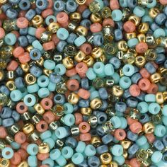 Beads Acrylic Faceted Rounds 10mm Mixed Colours with AB Shine x 120 beads 50g