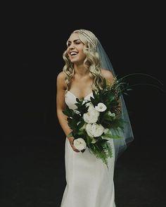 Beautiful modern wedding • Belle + Ben's stunning Amalfi Coast wedding is now…