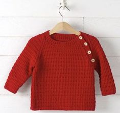 Home Weekly Magazine Baby Sweater Patterns, Baby Clothes Patterns, Baby Knitting Patterns, Knitting For Kids, Free Knitting, Baby Pullover Muster, Boys Sewing Patterns, Baby Barn, Textiles