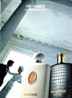 Trussardi uomo Blue Perfume, Nostalgia, Fragrance, Ad Campaigns, Travel, Vintage, Event Posters, Viajes, Advertising Campaign